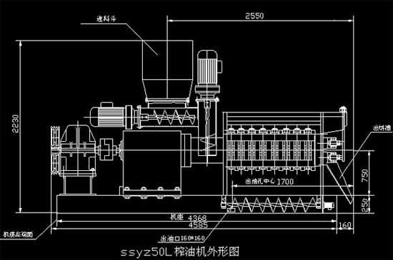 清江130榨油机电加热电路图